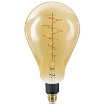 WiZ WiFi Smart LED E27 Glob 160 25W Filament Amber