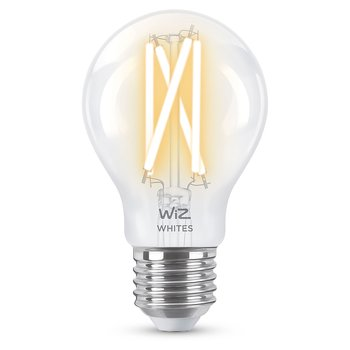 WiZ WiFi Smart LED E27 60W Filament Varm-kallvit