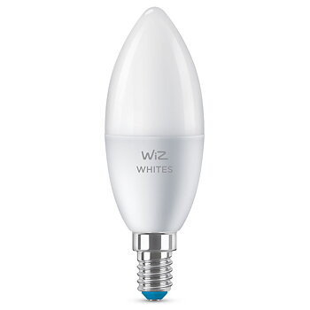 WiZ WiFi Smart LED E14 Kron 40W varm-kallvit