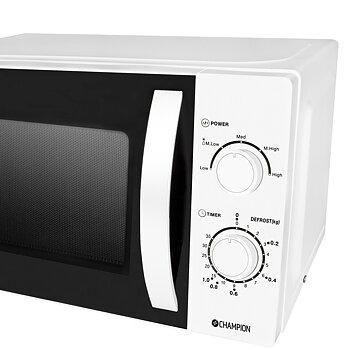 Mikrovågsugn 20l 700W, Vit