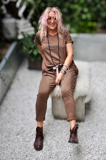 LOVE PANT BAMAKO BROWN