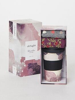 Presenttips! Bambustrumpor och take-away mugg- rosa