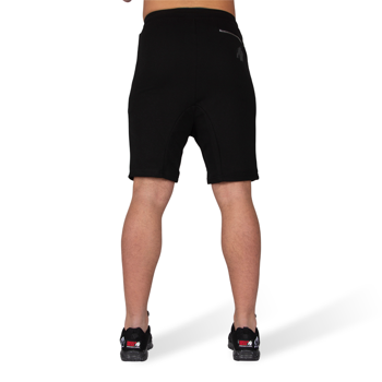 Alabama Drop Crotch Shorts, black