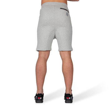 Alabama Drop Crotch Shorts, grey