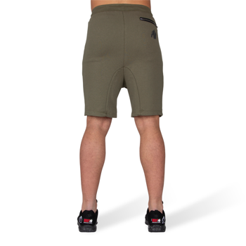 Alabama Drop Crotch Shorts, army green