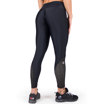 Carlin Compression Tights, black/black
