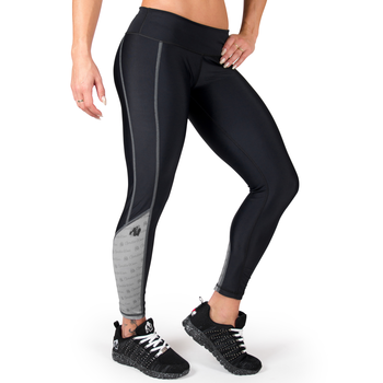 Carlin Compression Tights, black/grey