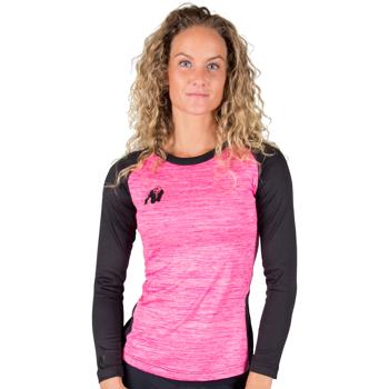 Mineola Longsleeve, black/pink
