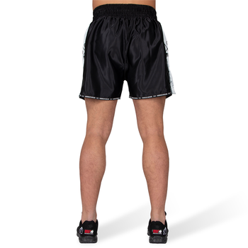 Henderson Muay Thai / Kickboxing Shorts, black/grey
