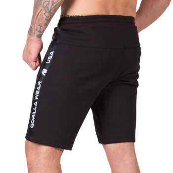 Saint Thomas Sweatshorts, black