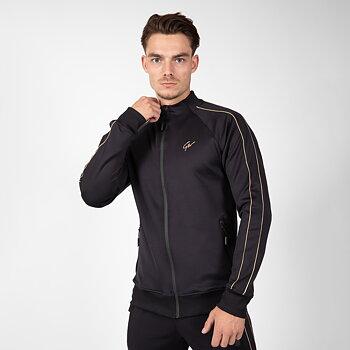 Wenden Track Jacket, black/gold