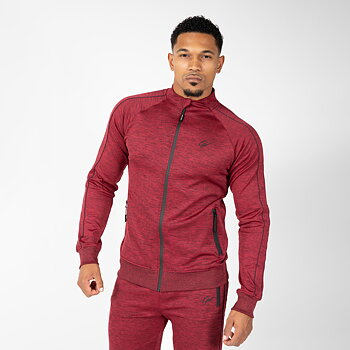 Wenden Track Jacket, burgundy red