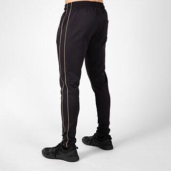 Wenden Track Pants, black/gold