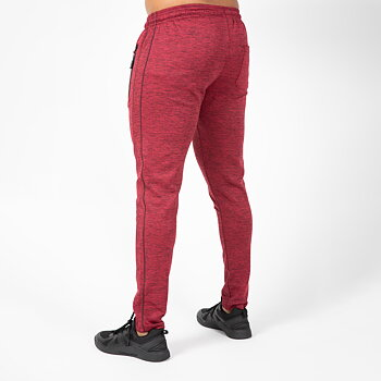 Wenden Track Pants, burgundy red