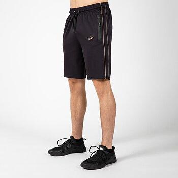 Wenden Track Shorts, black/gold