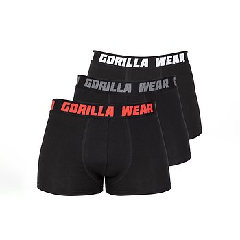Gorilla Wear Boxershorts 3-pack, black