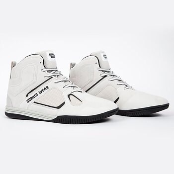 Troy High Tops, white