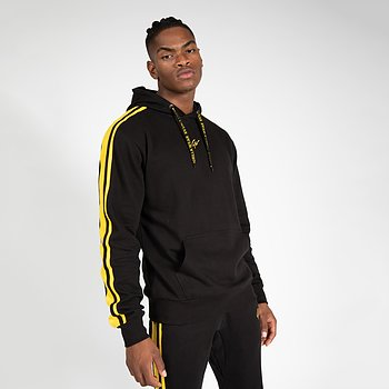Banks Oversized Hoodie, black/yellow