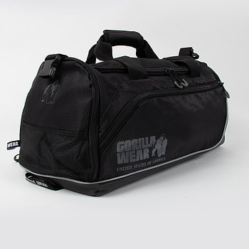 Jerome Gym Bag 2.0, black/grey