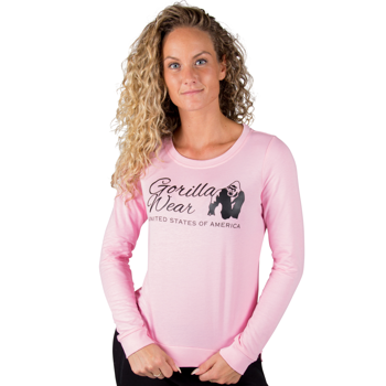 Riviera Sweatshirt, light pink