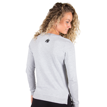 Riviera Sweatshirt, light grey