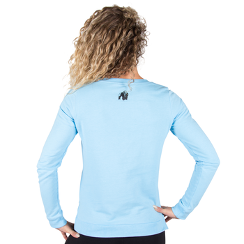 Riviera Sweatshirt, light blue