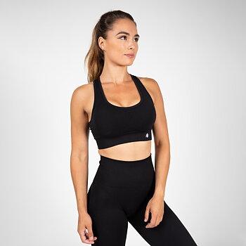 Yava Seamless Sport Bra, black