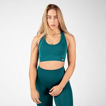 Yava Seamless Sport Bra, green