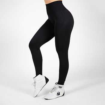 Yava Seamless Leggings, black
