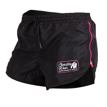 New Mexico Cardio Shorts, black/pink