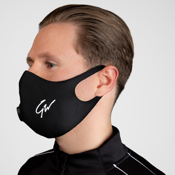 Gorilla Wear Filter Face Mask, black