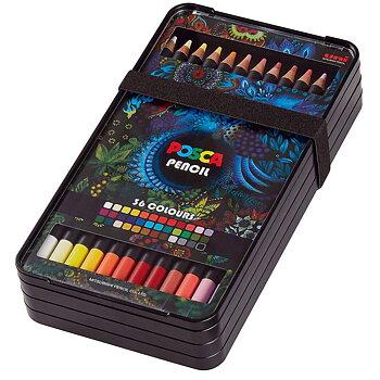 Färgpennor Posca 36-set