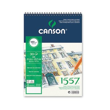 Canson Ritblock 1557 180gr A4 30ark