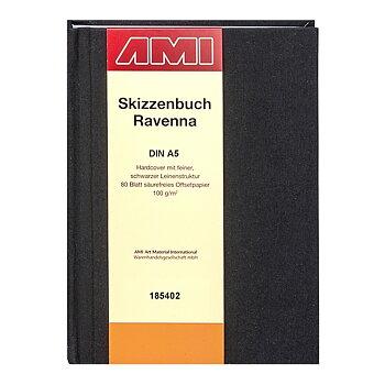 AMI Skissbok Ravenna 100gr A5 80ark