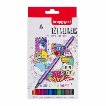 Fineliner Bruynzeel Basic Colours 12-st