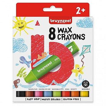 Vaxkritor Bruynzeel Crayons  8-st