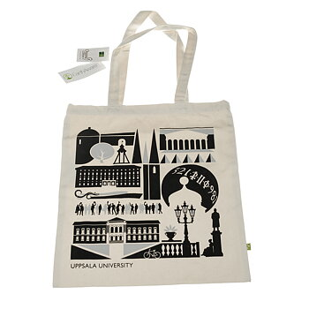 Tote bag in organic cotton