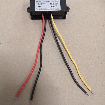 Omformare 6 volt till 12 volt max 4 ampere