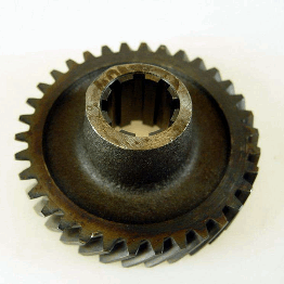 Tvåans kugghjul på piniongaxel