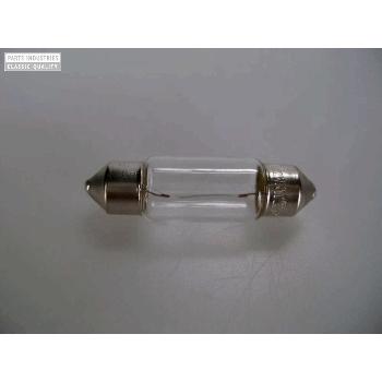 Glödlampa, skylt-bel. 6 volt