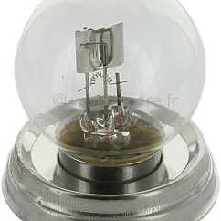 c Glödlampa 6 V 40/45 W  P45
