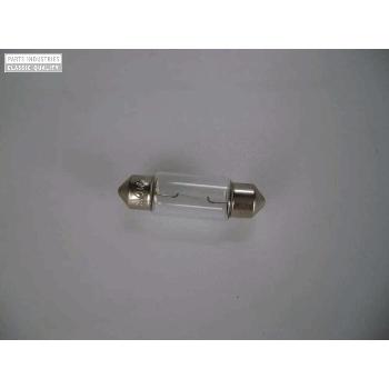 Glödlampa  6volt 10 watt, spolform