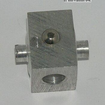 Spindelmutter i aluminium till torpedlucka