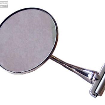 Backspegel för dörrmontage, rund)