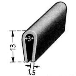 Gummilist vindruta inre efter - 52