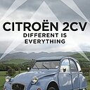 Citroen 2CV Different is Everything