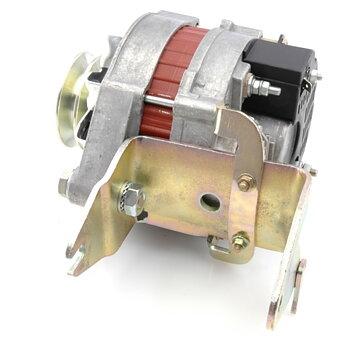 Generator med inbyggd regulator, bytessystem