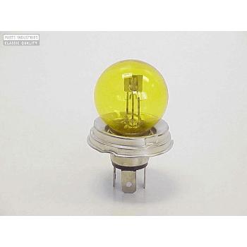 Glödlampa Strålkastare , gul P45