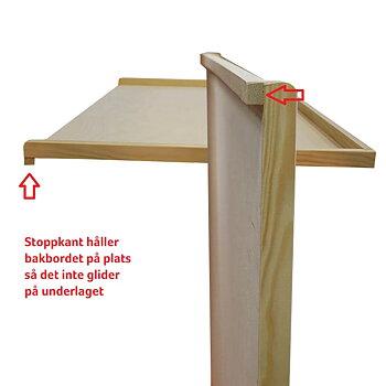 BAKBORD TRÄ BJÖRK 75x50CM