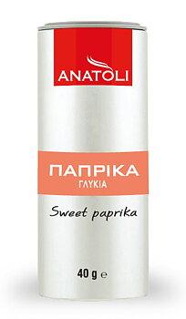 Anatoli, söt paprikapulver 40g, metall